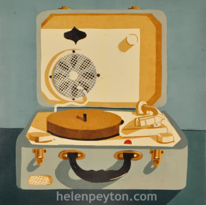 Record Player by Helen Peyton