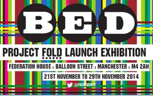 bed exhibition poster
