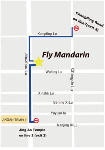 Map to Fly Mandarin