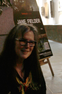 Jane Fielder at Shanghai Odyssey exhibition preview